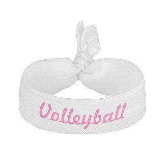 Lazo del pelo del voleibol gomas de pelo