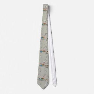 Lazo del perro del humor corbata personalizada