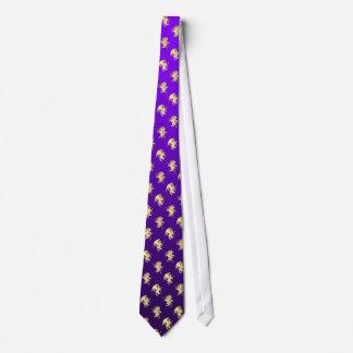 Lazo del príncipe y de princesa Purple Gryphon Roy Corbatas Personalizadas