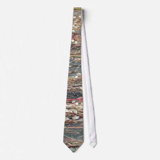 Lazo del sauce corbatas