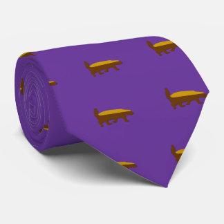 lazo del tejón de miel corbata personalizada