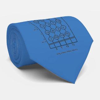 Lazo del tramposo de la digitación del violín corbatas personalizadas