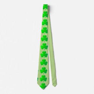 Lazo del trébol del trébol corbata personalizada
