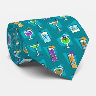 Lazo del trullo del cóctel de los años 50 de la corbatas