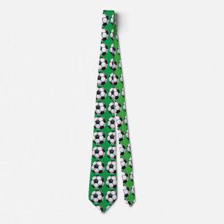 Lazo del verde del modelo del arte del balón de corbatas personalizadas