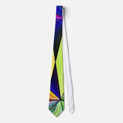 Lazo del vitral 5 corbatas personalizadas