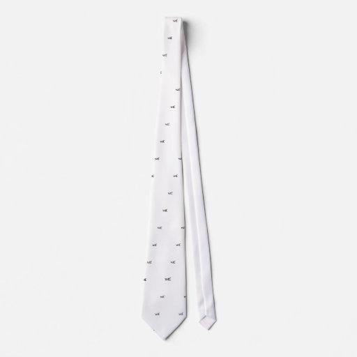 lazo del wtf corbatas personalizadas