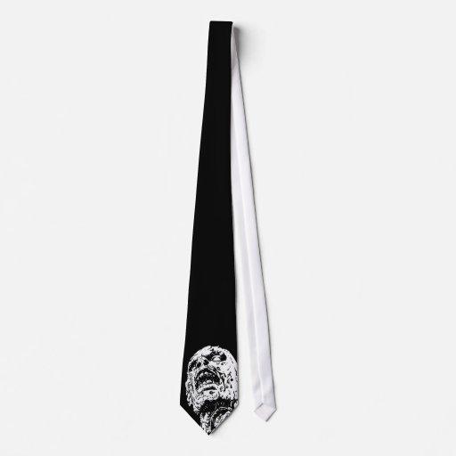 Lazo del zombi en negro corbatas