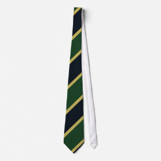 Lazo Diagonal-Rayado verde de la marina de guerra  Corbata Personalizada