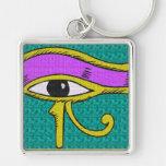 lazo diseñado influencia egipcia llaveros personalizados