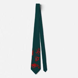 Lazo divertido de los agujeros de bala para ese corbatas