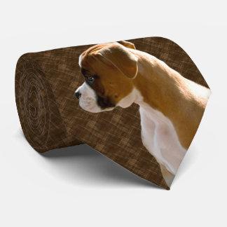 Lazo ejecutivo de Brown del recorte del perro de Corbatas