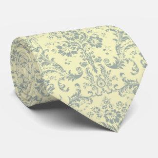 lazo elegante del francés del vintage del damasco corbatas personalizadas