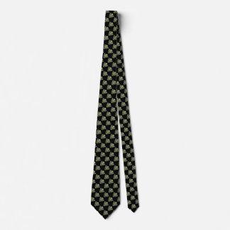 Lazo enojado malvado del científico corbata personalizada