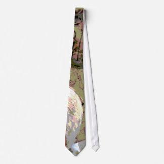 Lazo entonado verde y rojo de los corchos del vino corbata personalizada