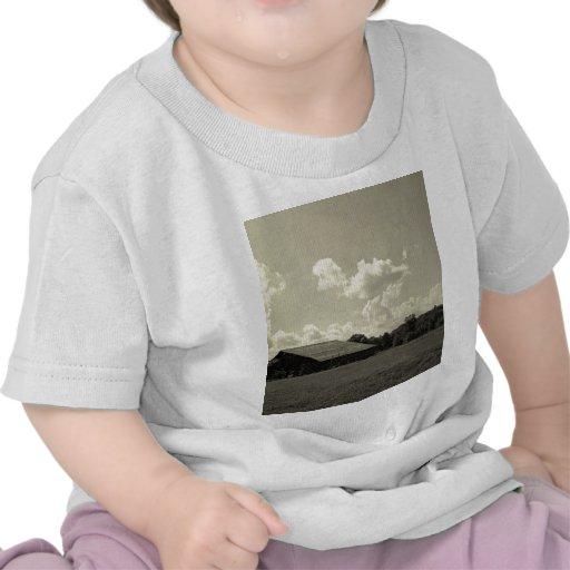Lazo escénico de la montaña del puesto de camiseta