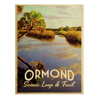 Lazo escénico de Ormond Tarjetas Postales