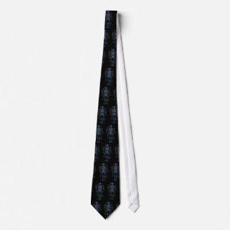 Lazo esquelético corbata personalizada