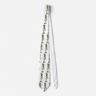 Lazo esquelético del modelo del payaso corbata personalizada