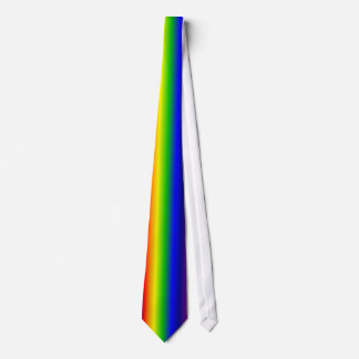 Lazo femenino del arco iris corbatas personalizadas