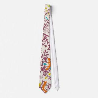 Lazo floral del boda del vintage del ciruelo y del corbatas personalizadas