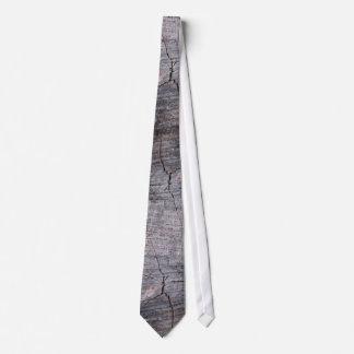 Lazo (grande) de madera de los anillos corbata personalizada