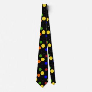 Lazo grande del lunar corbata personalizada