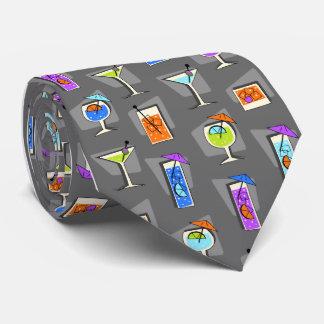 Lazo gris del cóctel de los años 50 de la hora corbatas personalizadas