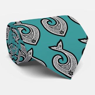 Lazo hawaiano del gancho de pescados en cualquier corbatas personalizadas