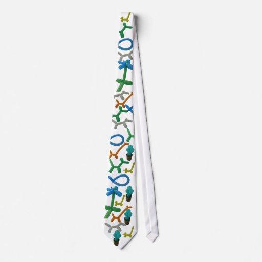 Lazo hinchado corbatas
