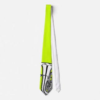 Lazo intrépido de la tuba en cualquier color corbatas