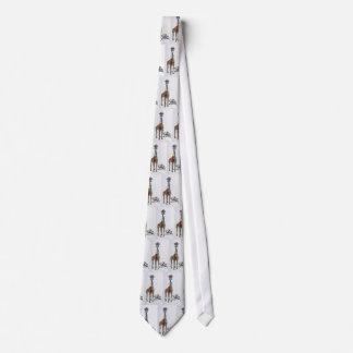 Lazo, jirafa con las corbatas corbata personalizada