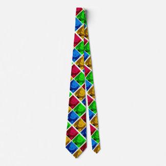 lazo lindo del dibujo animado para los papás corbatas personalizadas