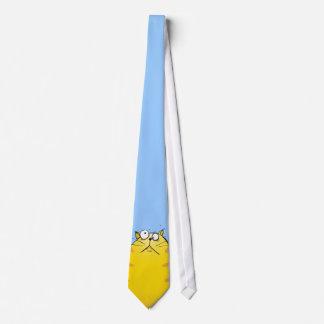 Lazo loco del gato corbata personalizada