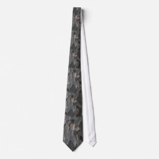 Lazo macro abstracto de la corteza de árbol corbata personalizada