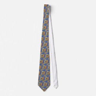Lazo medieval de la discusión corbatas personalizadas