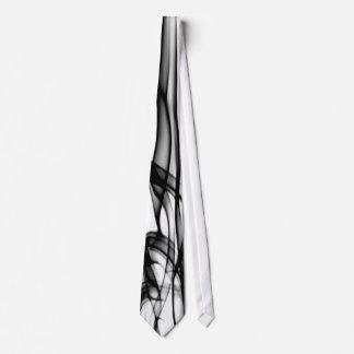 Lazo moderno y único blanco y negro corbata personalizada