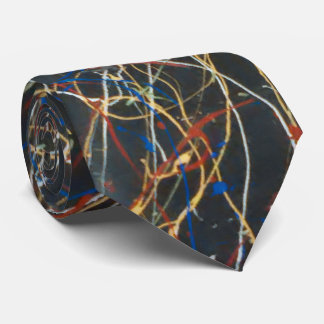 Lazo multicolor de la vena corbata personalizada