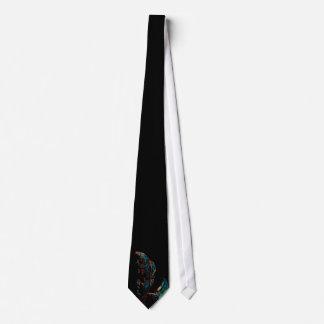 Lazo negro de la querube colorida corbatas