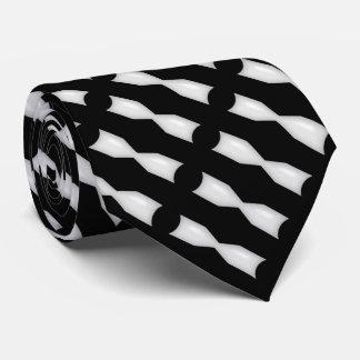 Lazo negro y blanco de Bowtie blanco Corbatas Personalizadas