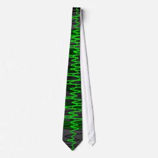 Lazo oscuro verde sano corbatas