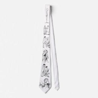 Lazo osteopático tradicional del tratamiento corbata