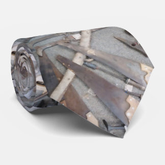 Lazo oxidado de la herramienta corbatas