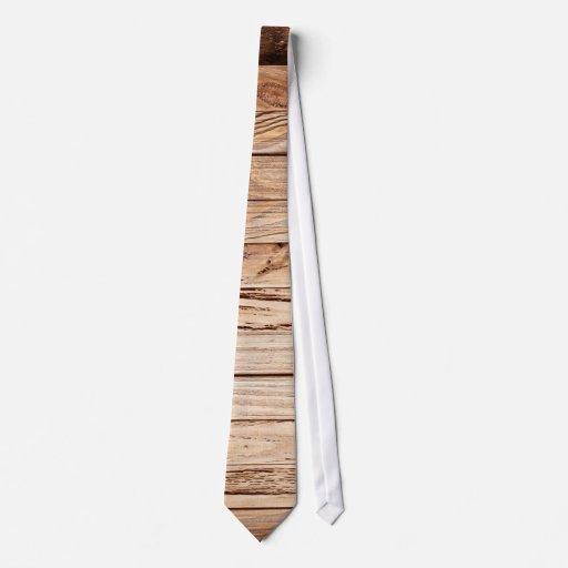 Lazo para hombre de madera del granero occidental corbatas