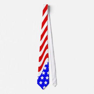 Lazo patriótico corbata personalizada