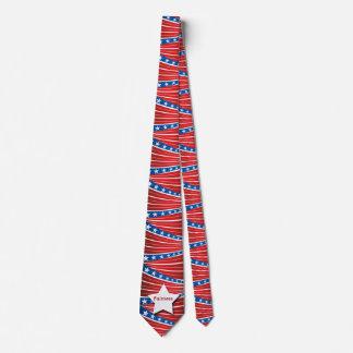 Lazo patriótico de las barras y estrellas corbatas