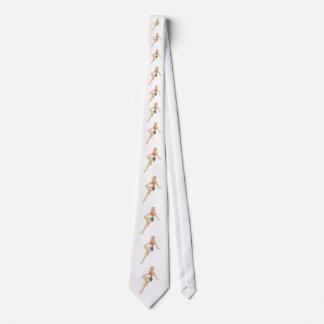 LAZO - PIN de los años 50 ENCIMA del CHICA Corbata Personalizada