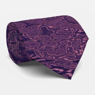 Lazo-Púrpura abstracto coloreada Corbatas Personalizadas