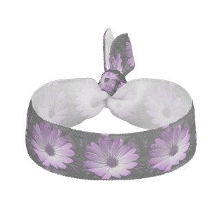 Lazo púrpura del pelo de la flor de la margarita