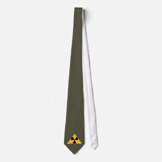 Lazo radiactivo del emblema corbata personalizada